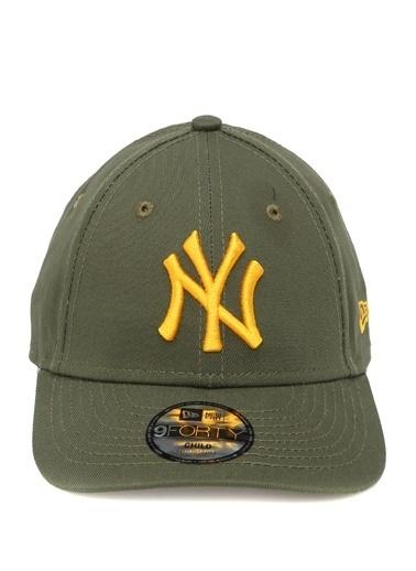 New Era New Era 9Forty New York Yankees  Unisex Çocuk Şapka 101583821 Yeşil